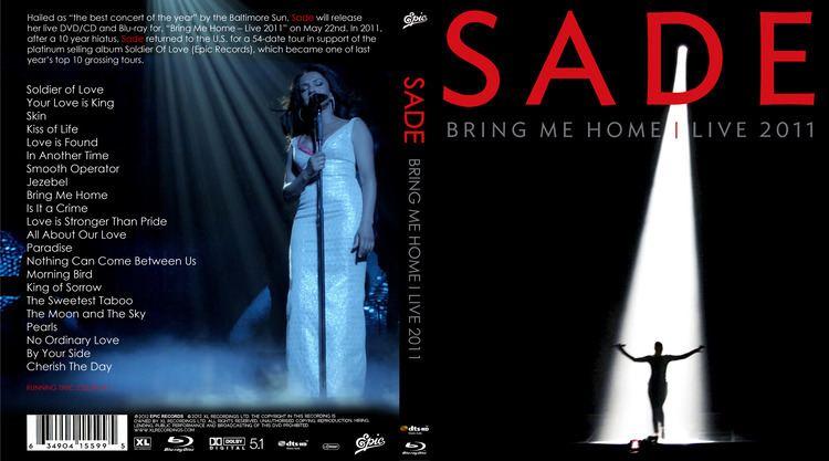 sade bring me home dvd label