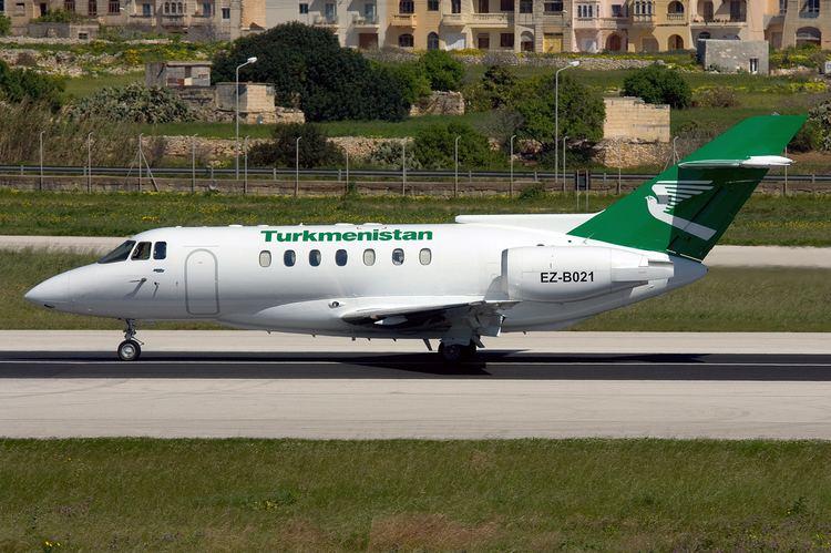 British Aerospace 125 FileTurkmenistan British Aerospace BAe1251000B Zammit1jpg