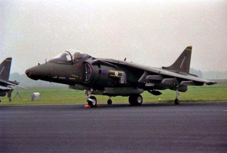 British Aerospace Harrier II Royal Air Force Out of Service British Aerospace Harrier II Gr5