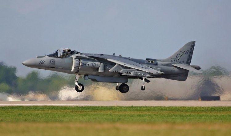 British Aerospace Harrier II Cool Jet Airlines British Aerospace Harrier II