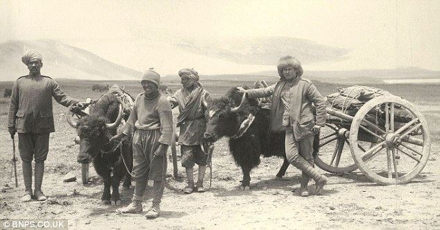 British expedition to Tibet The MountainWorld Blog Photos from Younghusband39s 1903 Expedition
