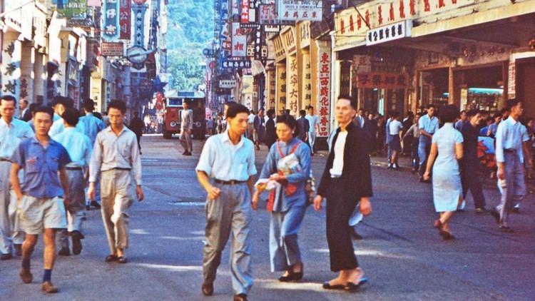 British Hong Kong British soldier39s unseen photos of Hong Kong 60 years ago revealed