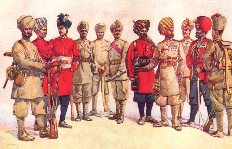 British Indian Army The British Indian Army Weapons and Warfare