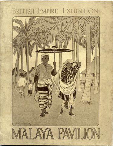 British Malaya British Empire Exhibition 1924 London