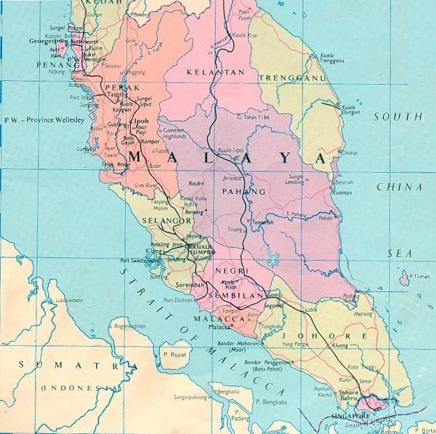 British Malaya South East Asia Malaya