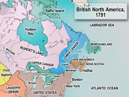 British North America British North America