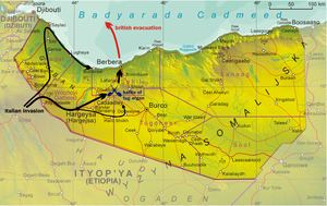 British Somaliland Italian conquest of British Somaliland Wikipedia