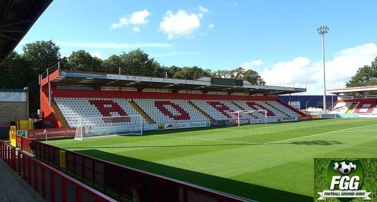 Broadhall Way Lamex Stadium Broadhall Way Stevenage FC Football Ground Guide