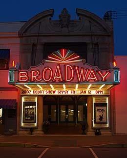 Broadway theatre The Broadway Theatre of Pitman NJ