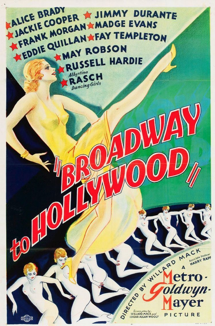 Broadway to Hollywood (film) Broadway to Hollywood film Wikipedia