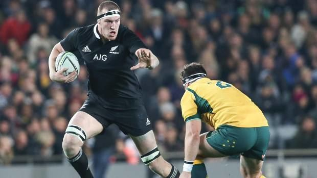 Brodie Retallick Retallick named world rugby player of the year Stuffconz