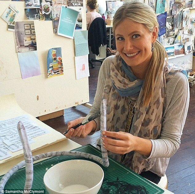 Brooke McClymont Samantha McClymont tells how she met pilot husband while performing