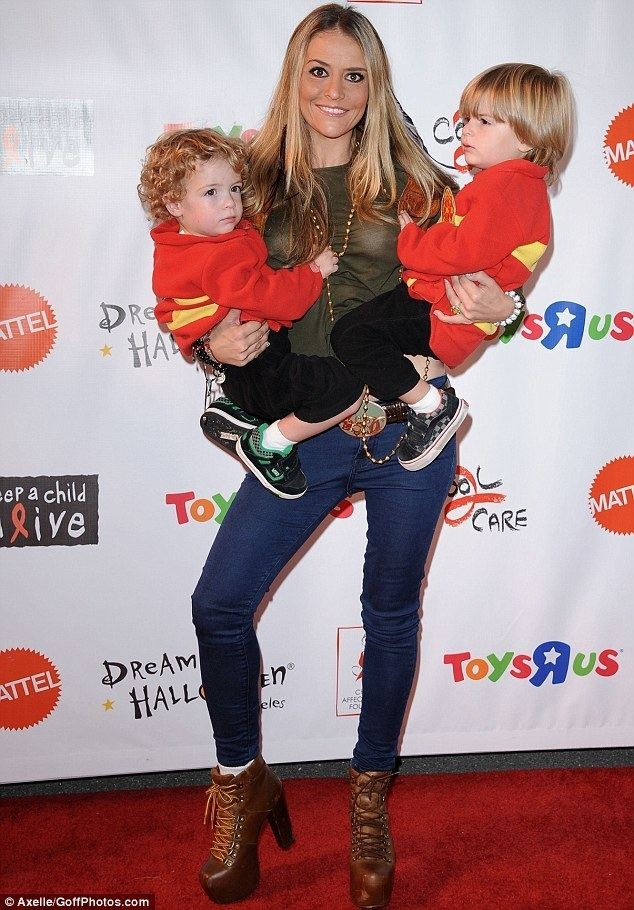 Brooke Mueller Brooke Mueller 39rambled about mafia connections before