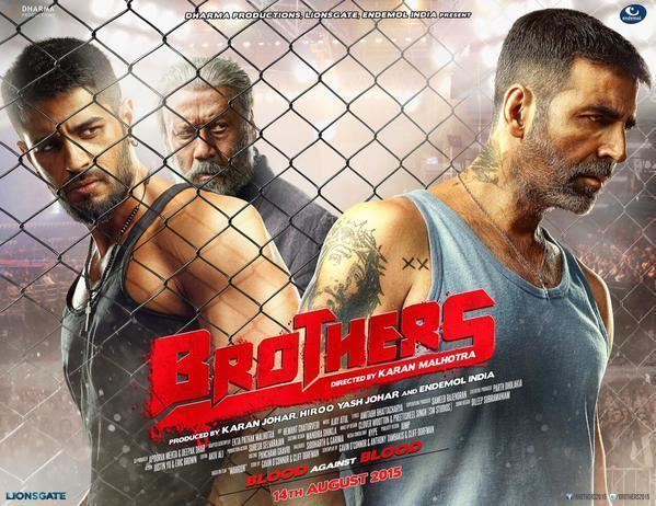 Superstar Akshay Kumar tweets first poster of his film Brothers