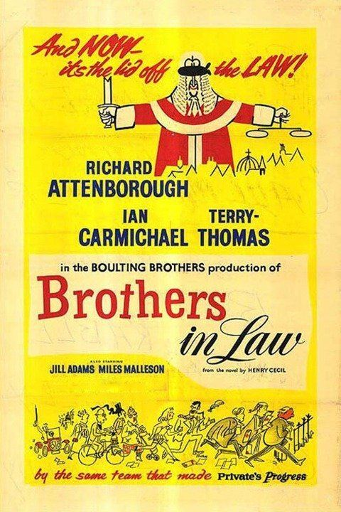 Brothers in Law (film) wwwgstaticcomtvthumbmovieposters36730p36730