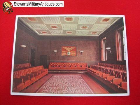 Brown House, Munich Stewart39s Military Antiques German WWII Postcard Munich NSDAP