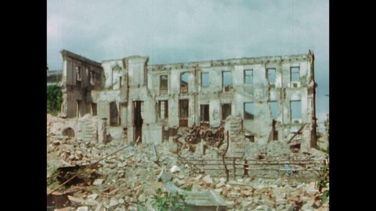 Brown House, Munich Munich End of War Germany May 17 1945 HD Stock Video 682