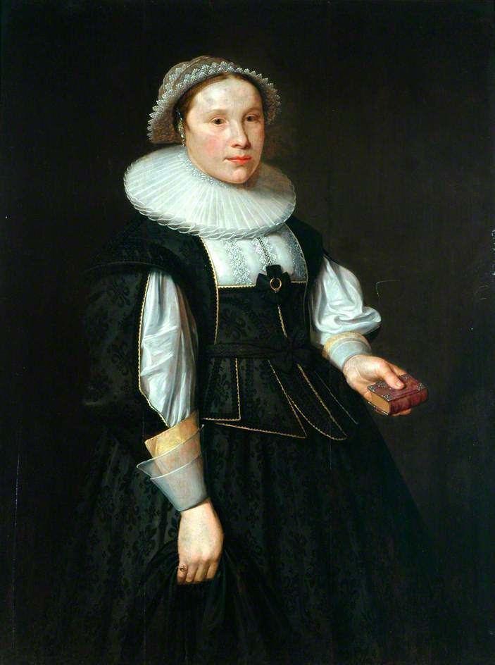 Browne Bushell Captain Browne Bushells Bride Elizabeth ne Fairfax 1633 Whitby