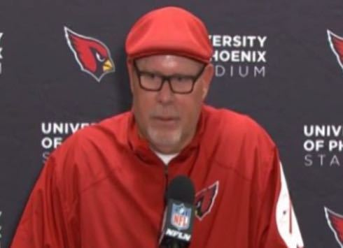 Bruce Arians Bruce Arians John Brown have messages for fantasy