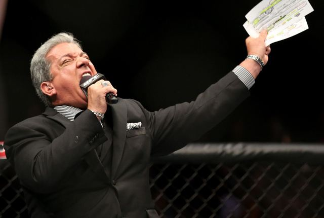 Bruce Buffer Bruce Buffer tells the stories behind his most