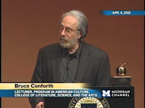 Bruce Conforth Golden Apple Award 2012 YouTube