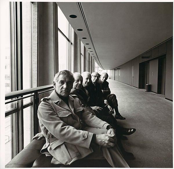 Bruce Davidson (Australian politician) Bruce Davidson Leonard Bernstein Walter Piston Aaron Copland