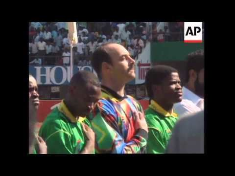Bruce Grobbelaar ZIMBABWE BRUCE GROBBELAAR PLAYS FOR NATIONAL TEAM YouTube