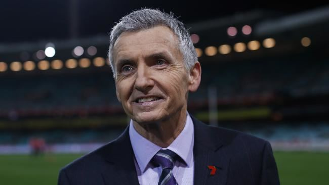 Bruce McAvaney Bruce McAvaney cancer leukaemia scare Fox Sports