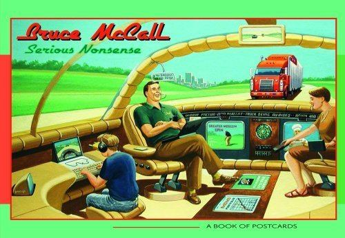 Bruce McCall All Meat Looks Like South America The World of Bruce