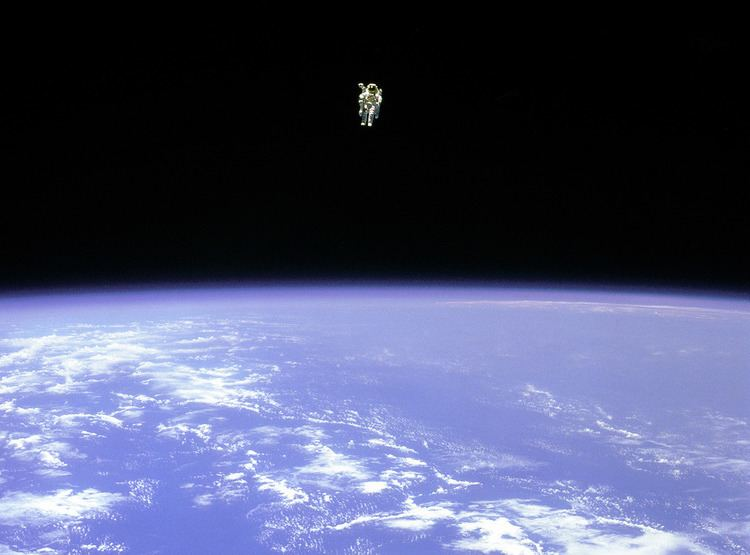 Bruce McCandless I love this picture Bruce McCandless Alone in