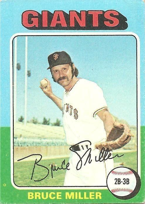 Bruce Miller (baseball) Bruce Miller Cardboard Gods