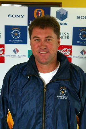 Bruce Reid Hampshire Cricket bowling coach Photo Hampshire
