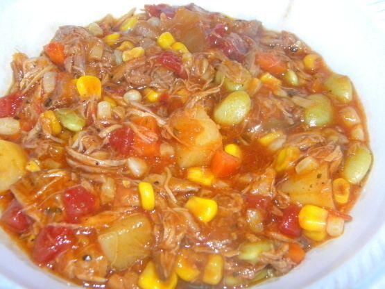 Brunswick stew Brunswick Stew Georgia Style Chicken And Pork Recipe Foodcom
