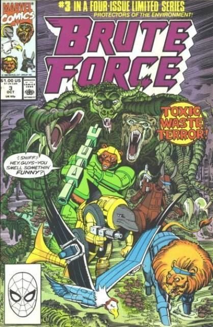 Brute Force (comics) Brute Force Volume Comic Vine