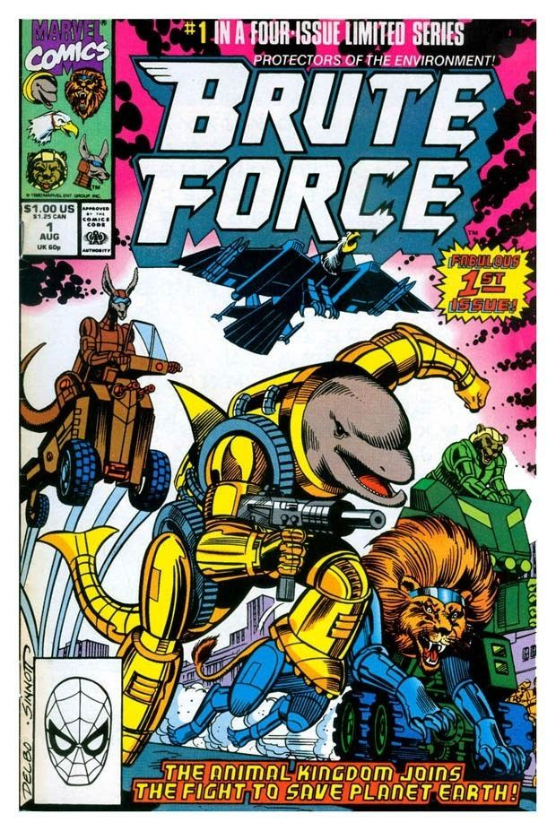 Brute Force (comics) Gone amp Forgotten BRUTE FORCE