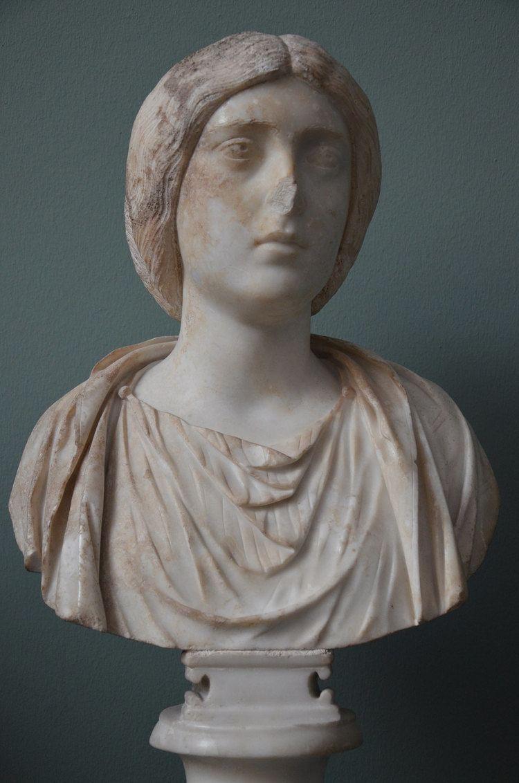 Bruttia Crispina Empress Bruttia Crispina Illustration Ancient History
