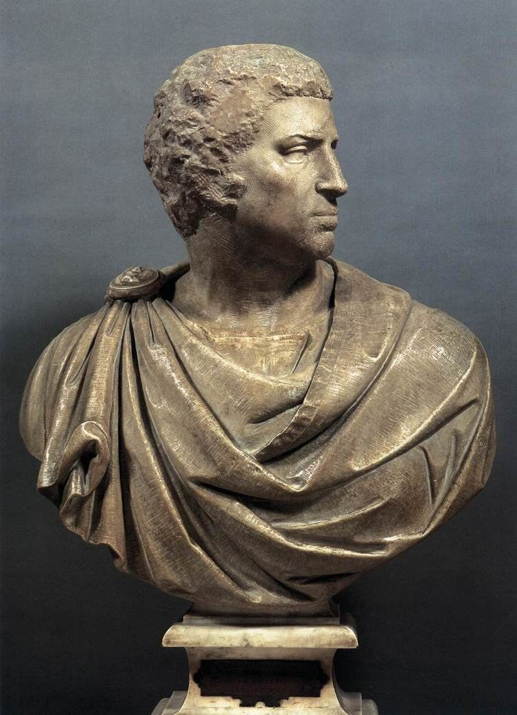 Brutus (Michelangelo) Michelangelo Brutus 1540 Marble height 95 cm with base Museo