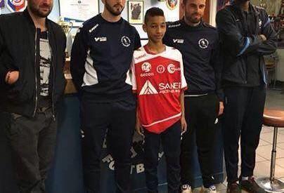 Bryan Beaumont Bryan Beaumont FC Antony signe au Stade de Reims Panamefoot