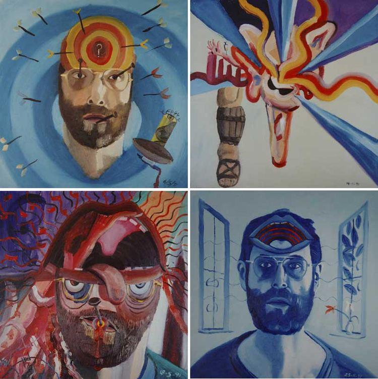 Bryan Charnley La cuenta atrs del pintor esquizofrnico Bryan Charnley