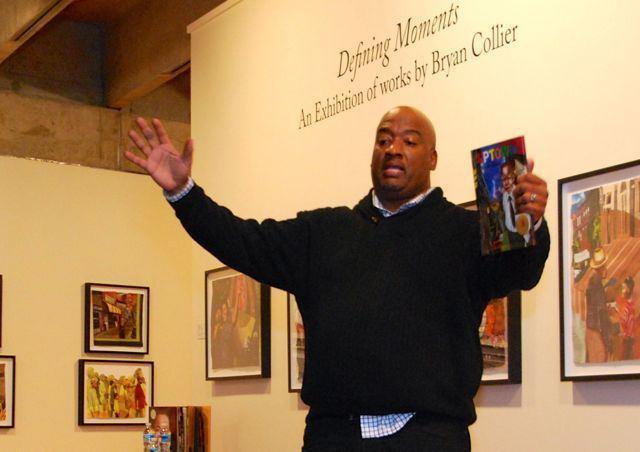 Bryan Collier Legacy Awards Ceremony Show Celebration of Black Writing