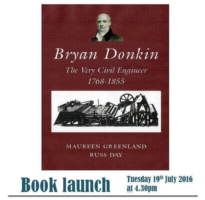Bryan Donkin Bryan Donkin Derbyshire Record Office