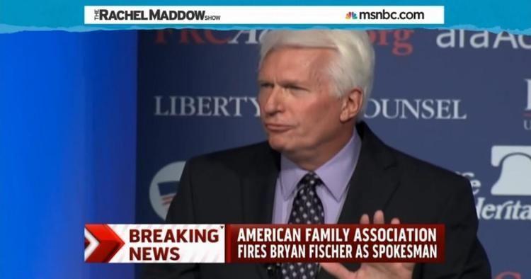 Bryan Fischer AFA ousts Bryan Fischer as group spokesperson MSNBC