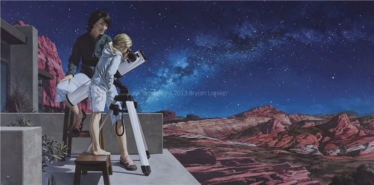 Bryan Larsen Bryan Larsen 1975 Romantic Realist painter TuttArt Pittura
