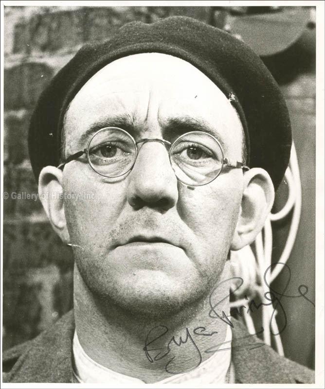 Bryan Pringle Bryan Pringle Photograph Signed Autographs Manuscripts