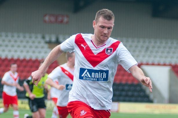 Bryan Prunty Brechin City 1 Airdrieonians 2 Bryan Prunty at the double