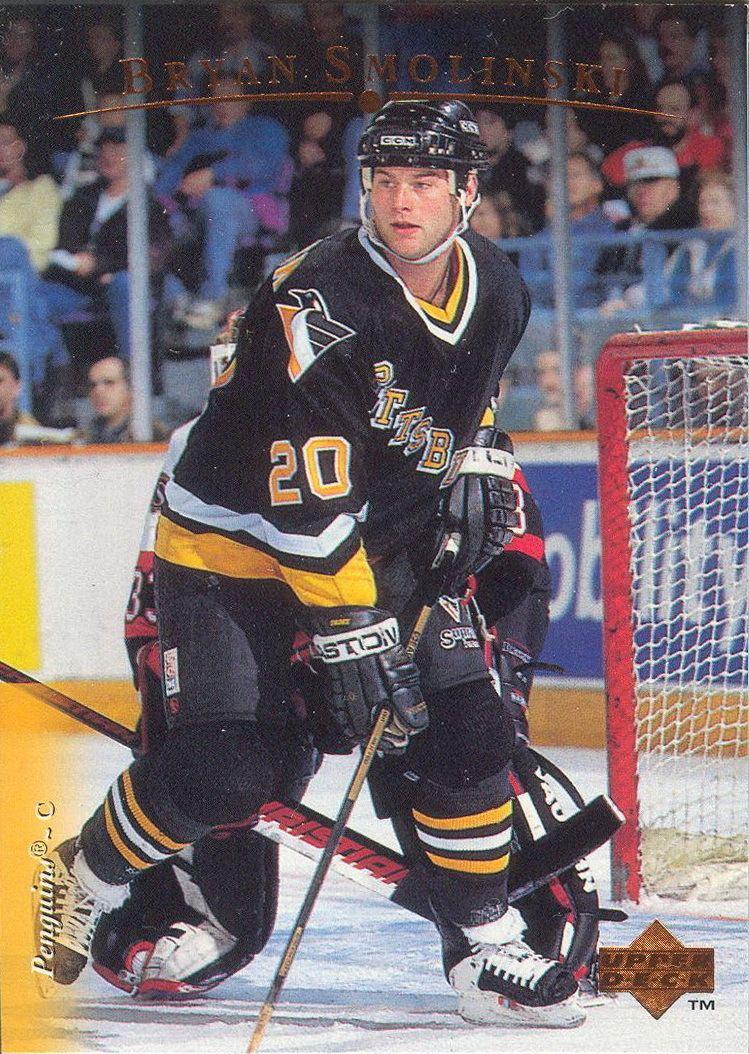 Bryan Smolinski Bryan Smolinski Players cards since 1995 1997 penguinshockey