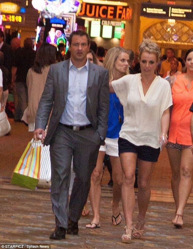Bryan Spears Britney Spears turns to brother Bryan for support after