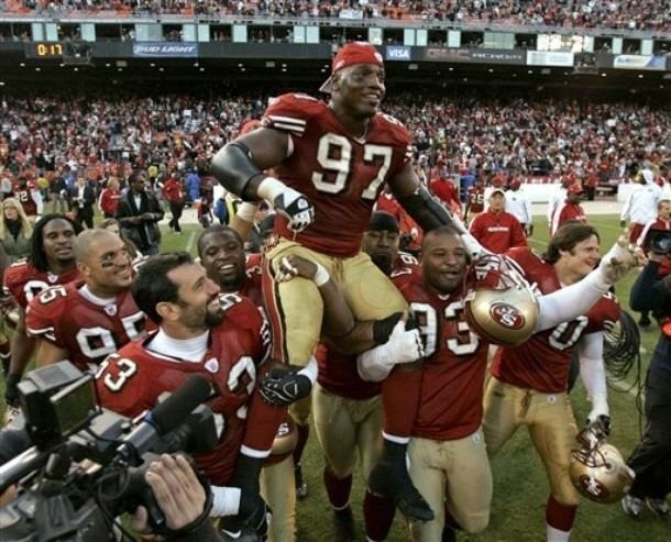 Bryant Young San Francisco 49ers Legendary DT Bryant Young