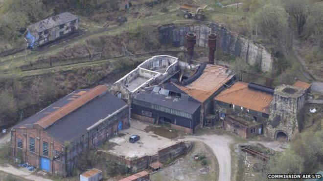 Brymbo Steelworks Heritage centre hopes for Brymbo steelworks site BBC News