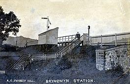 Bryngwyn Halt railway station httpsuploadwikimediaorgwikipediacommonsthu